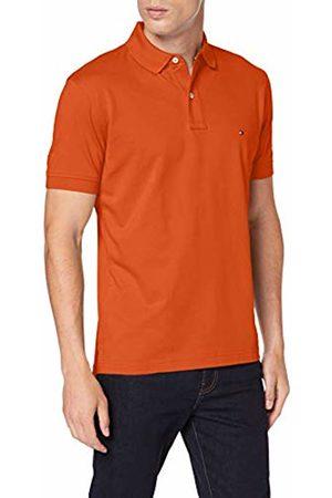 Tommy Hilfiger Men's Tommy Regular Polo Shirt, ( Rust 849)