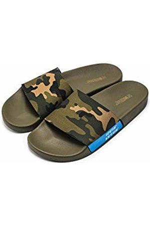 THE WHITE BRAND Men's Forest Open Toe Sandals, Army
