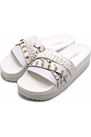 THE WHITE BRAND Women's High Elegant Platform Sandals