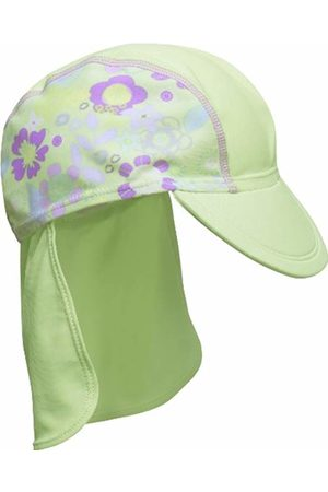 Playshoes Protection UV Hat with Flower - Turquoise - X-Small