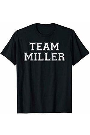 Family Team Surnames Novelty Shirts & Apparel Funny Family Sports Team Miller Last Name Miller T-Shirt