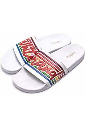 THE WHITE BRAND Women's Old School Open Toe Sandals