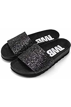 THE WHITE BRAND Women Sandals - Women's Bio Glitter Open Toe Sandals