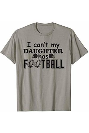 Hadley Designs I Cant Daughter Has Football for Women Mom Mothers Day Gift T-Shirt
