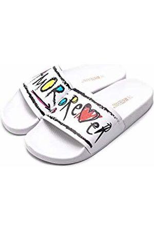 THE WHITE BRAND Women's Forever Open Toe Sandals