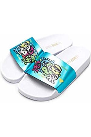 THE WHITE BRAND Unisex Kids' Bugs Open Toe Sandals, Metallic