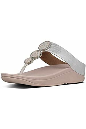 FitFlop Women's Halo Shimmer Toe-Thongs Open Sandals