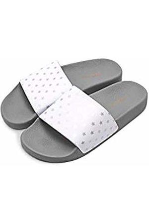 THE WHITE BRAND Unisex Kids' Mini Stars Open Toe Sandals