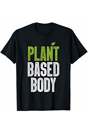 Great Workout Summer Holiday Vibes Gift Tees 2019 Plant Based Body Vegan Gym Bodybuilding Workout Fitness Gift T-Shirt