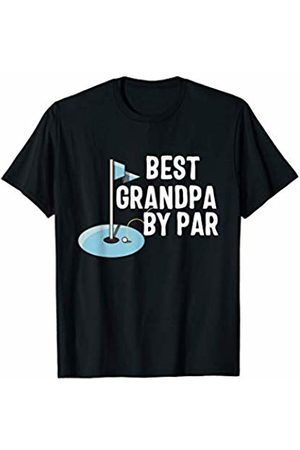 Golf CG Tees Father's Day Best Grandpa by Par Funny Golf Gift T-Shirt