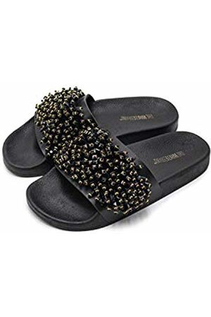 THE WHITE BRAND Women's Party Open Toe Sandals