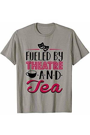 Theatre Designs Fueled by Theatre and Tea T-Shirt