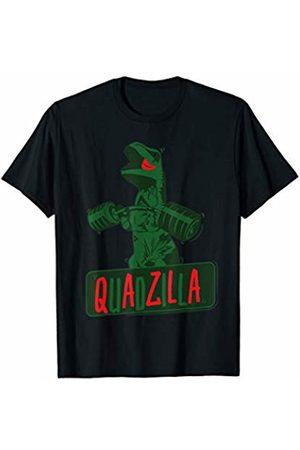 Funny Fitness Quadzilla Dinosaur T-Rex Workout Gym T-Shirt