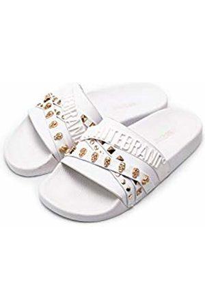 THE WHITE BRAND Women's Elegant Open Toe Sandals
