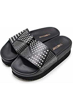 THE WHITE BRAND Women Sandals - Women's High Moon Platform Sandals, Metallic