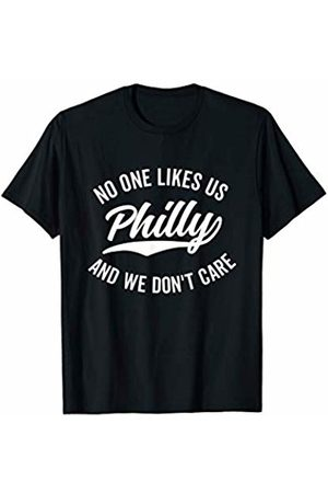 No One Likes Us Funny Tees Philly No One Likes Us We Don't Care Shirt