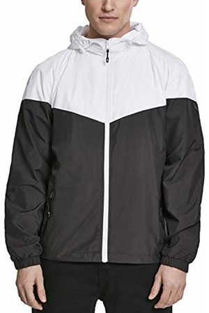 Urban classics Men's 2-Tone Tech Windrunner Jacket