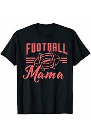 Hadley Designs Football Mama Mom Season for Women Mothers Day Gift Cute T-Shirt