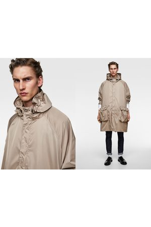 Zara Oversized hooded parka
