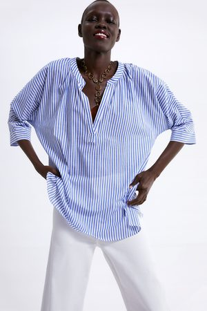 Zara Stripe print shirt