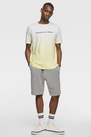 Zara Tie-dye t-shirt with slogan