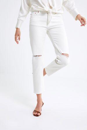 Zara Zw premium slim boyfriend jeans