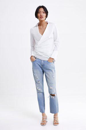 Zara Jeans zw premium cigarette sunrise