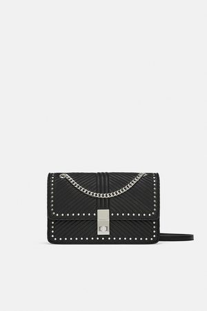 1b30ad35881 Zara studded-clutch women's shoulder bags, compare prices and buy online