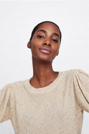 Zara Women Tank Tops - Shimmer tank top