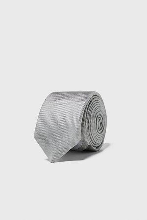 Zara Men Ties - Textured skinny tie