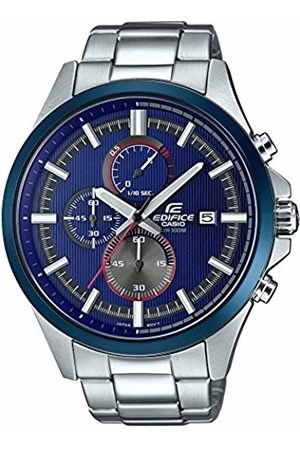 Casio Mens Analogue Classic Quartz Watch with Stainless Steel Strap EFV-520RR-2AVUEF