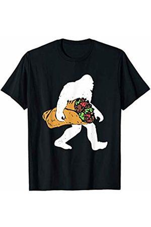 Taco Lovers Apparel Bigfoot Carrying Taco T-Shirt & Gift