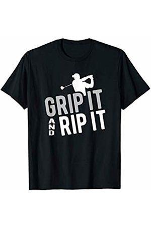 Goodtogotees Grip it and rip it golf T-Shirt