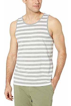 Amazon Essentials Men Tank Tops - Regular-fit Stripe Tank Top T-Shirt