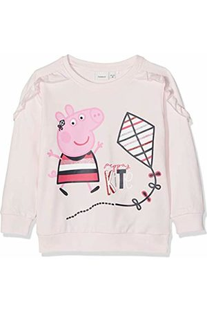 Name it Baby Girls' Nmfpeppapig Marie Sweat Unb Box LIC Sweatshirt, Barely