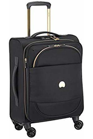 Delsey Paris Montrouge Suitcase 55 Centimeters 42 (Noir)