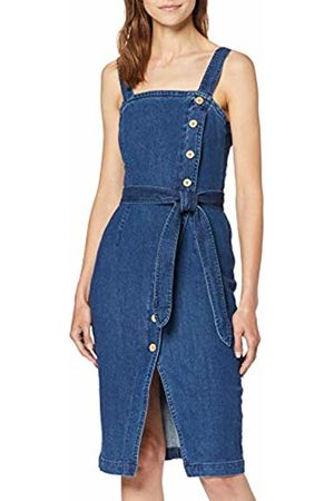 Vero Moda Women's Vmjulie Dress Ki Medium Denim