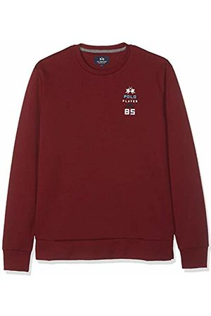 La Martina Men's Man Crew Neck Fleece Jumper