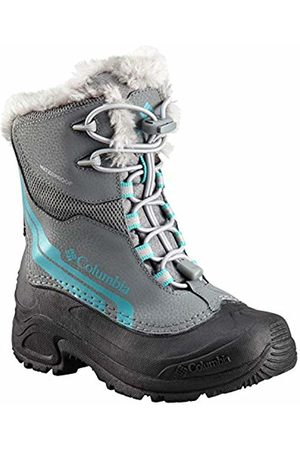 Columbia Unisex Kids' Youth Bugaboot Plus IV Omni-Heat Snow Boots, (Ti Steel, 033)