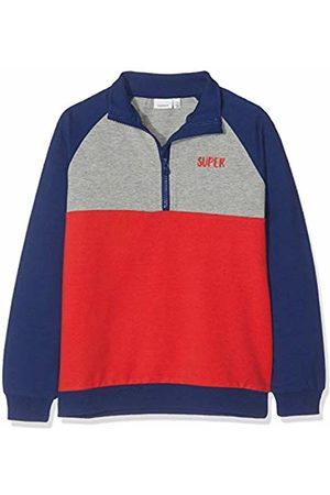 Name it Boy's Nmmkitto Sweat Unb Sweatshirt, Mars