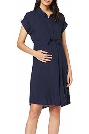 Mama Licious Women's Mllagoon Lia Cap Woven Abk Dress Nf, Navy Blazer