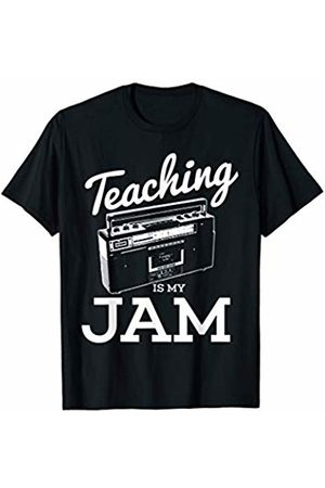 Funny Music T Shirts Teaching Is My Jam Funny Math Science Gym Music Teacher Pun T-Shirt