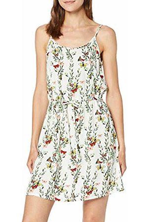 Vero Moda Women's Vmsimply Easy Singlet Short Dress, AOP:Betty-Snow