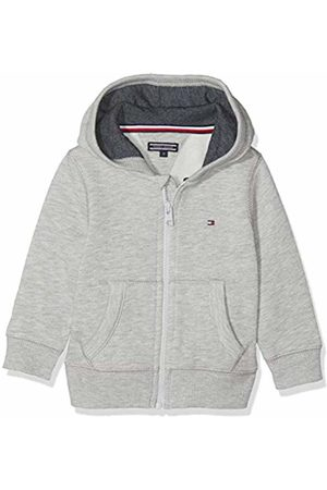 Tommy Hilfiger Boys Basic Zip Hoodie Sweatshirt, ( Heather 004)