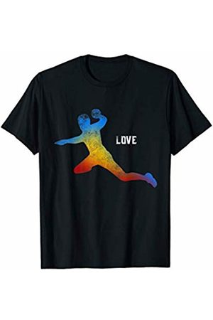 Love Handball theme Graphics Handball Love Sports Great Graphic Design T-Shirt