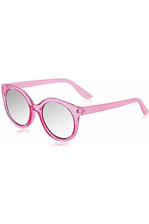 Skechers Boys' SE9013 Sunglasses, Shiny /Smoke Mirror)