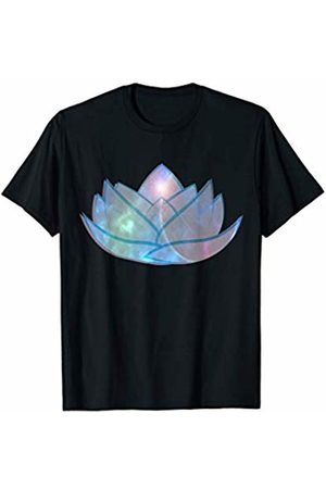 Cute & Sassy Custom Gifts Lotus Flower Colorful Peace Spiritual Yoga Gift T-Shirt