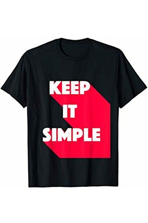 Simplicity Design Easy & Workout Budha Keep It Simple Motivational Gym Sport Training T-Shirt