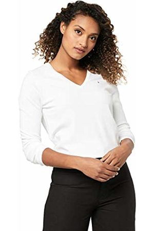 Tommy Hilfiger Women's New IVY V-Neck Long Sleeve Jumper