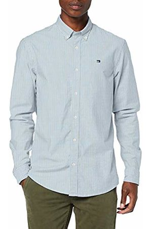 Scotch&Soda Men's Nos Oxford Shirt Relaxed Fit Button Down Collar Casual